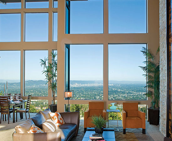 Milgard Aluminum Windows Come In Four Beautiful Frame Colors To Coordinate  With Your Home Design. Choose A Clean, White Finish Or Opt For A Darker  Frame To ...
